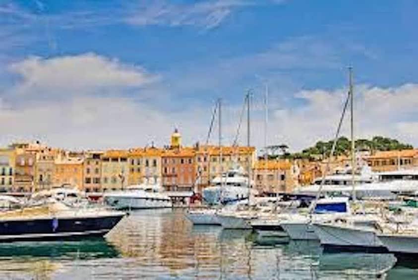 Boats on St Tropez