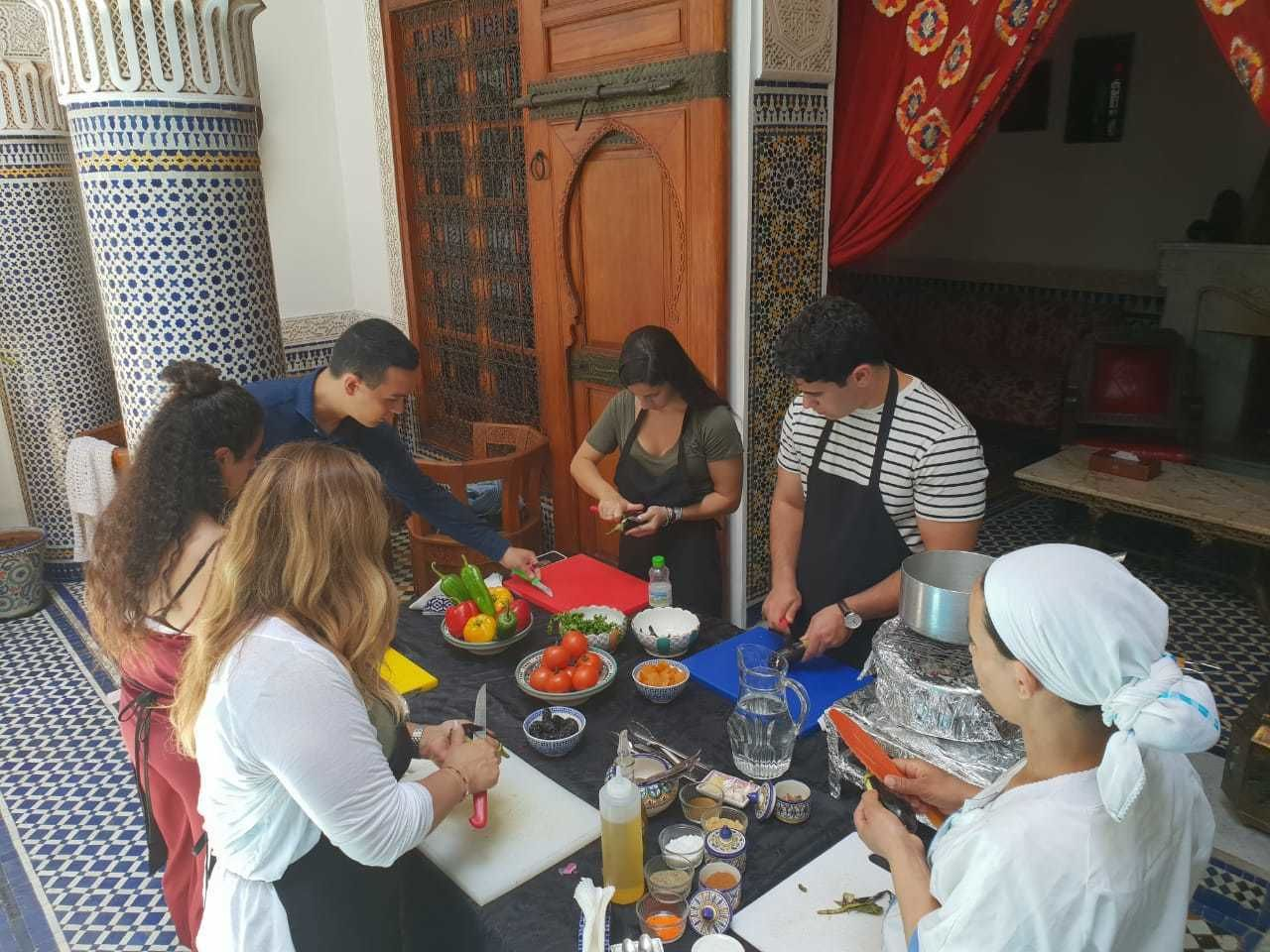 Moroccan Cooking Class in Fez