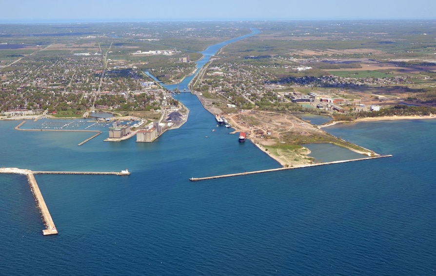 Show item 2 of 10. Welland Canal in Ontario, Canada