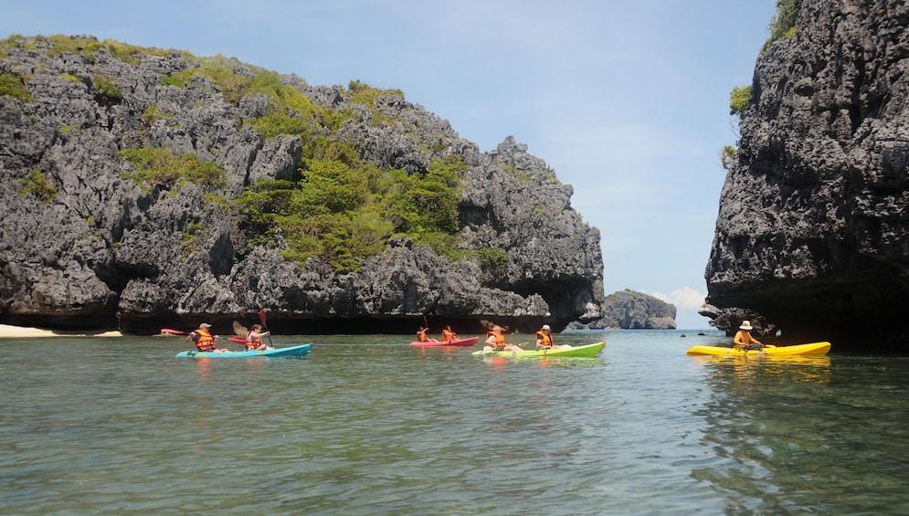Kayaking Adventure at Angthong National Marine Park