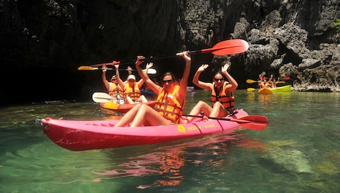 Group Sea Kayaking at Angthong National Marine Park