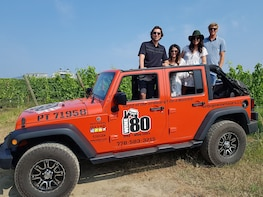Complete WINE 80 Jeep and Wine Tour