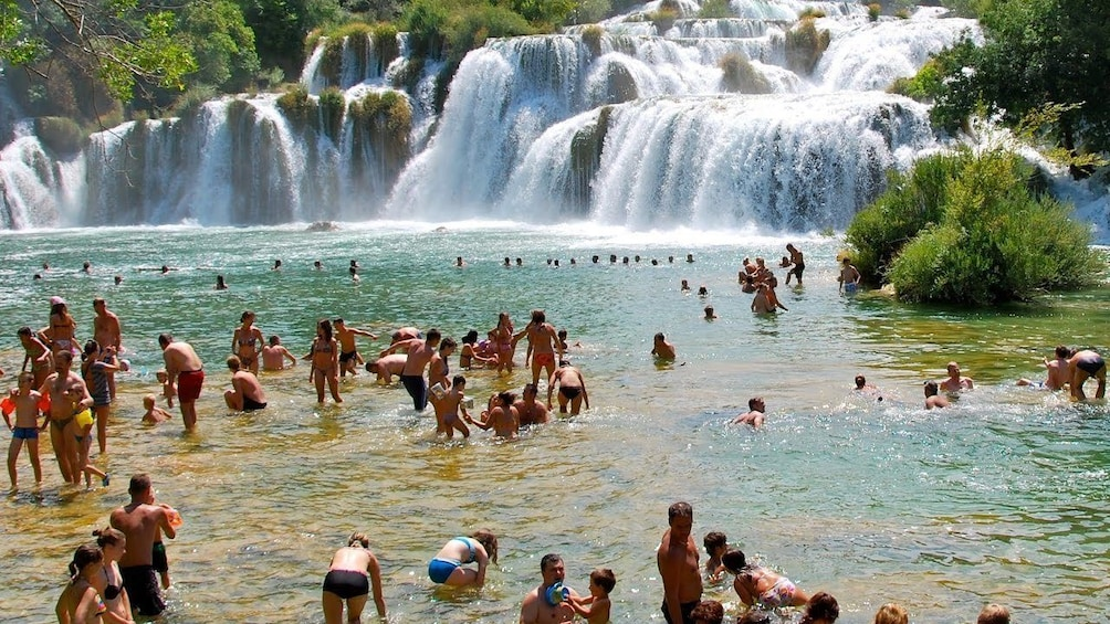Show item 5 of 6. Private tour Sibenik city and Krka National Park from Split