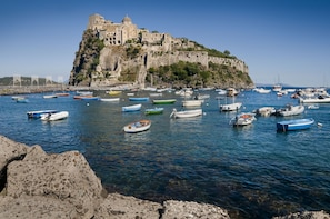 Private Boat Cruise Around Beautiful Ischia and Procida