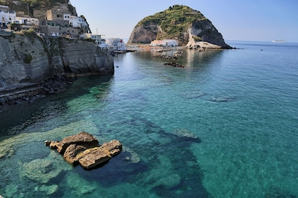 Sant'Angelo and surrounding ocean in Italy