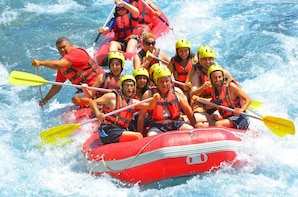 Rafting at Koprulu Canyon