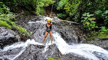 Rainforest Waterfall Rappel