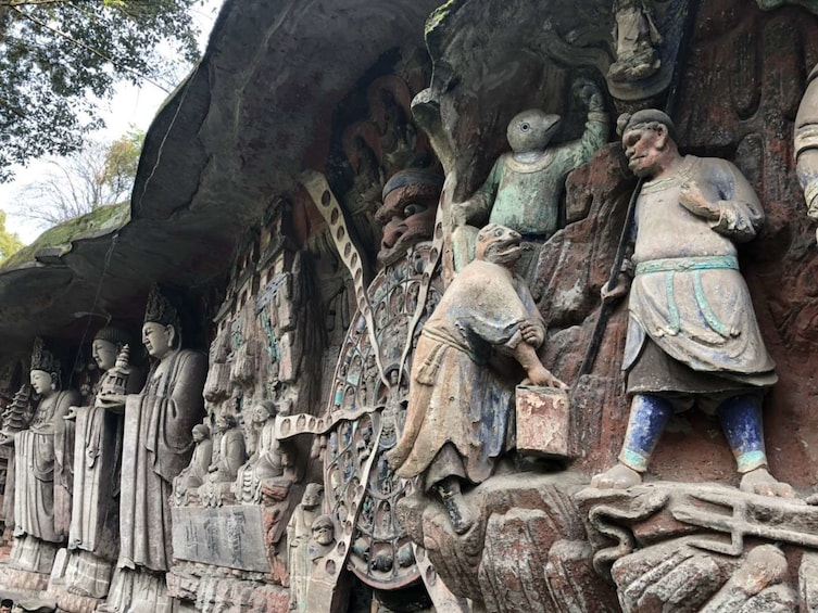 Show item 1 of 8. Chongqing Dazu Rock Carvings Private Day Tour With the Lunch