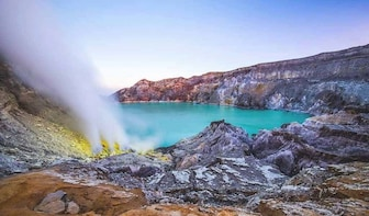Mount Ijen Trekking Tour departure from Bali island