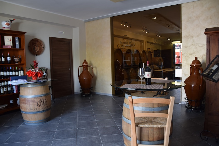 Winery in Guagnano