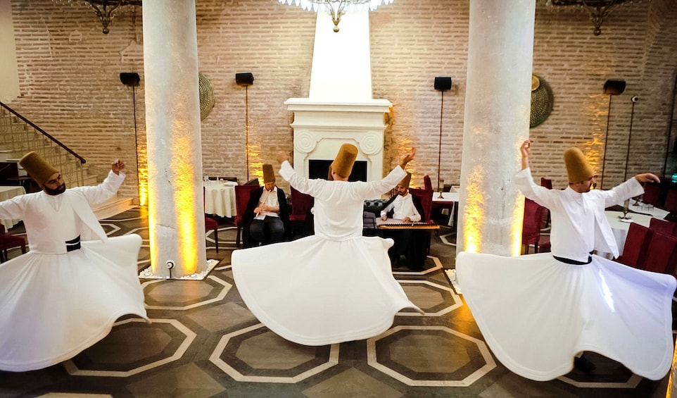 Show item 5 of 10. Whirling Dervish Ceremony in Istanbul