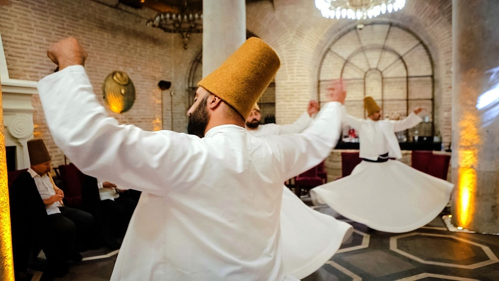 Show item 2 of 10. Whirling Dervish Ceremony in Istanbul