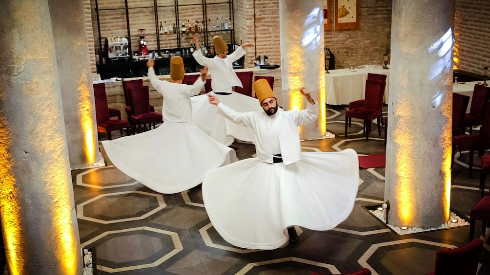 Show item 3 of 10. Whirling Dervish Ceremony in Istanbul