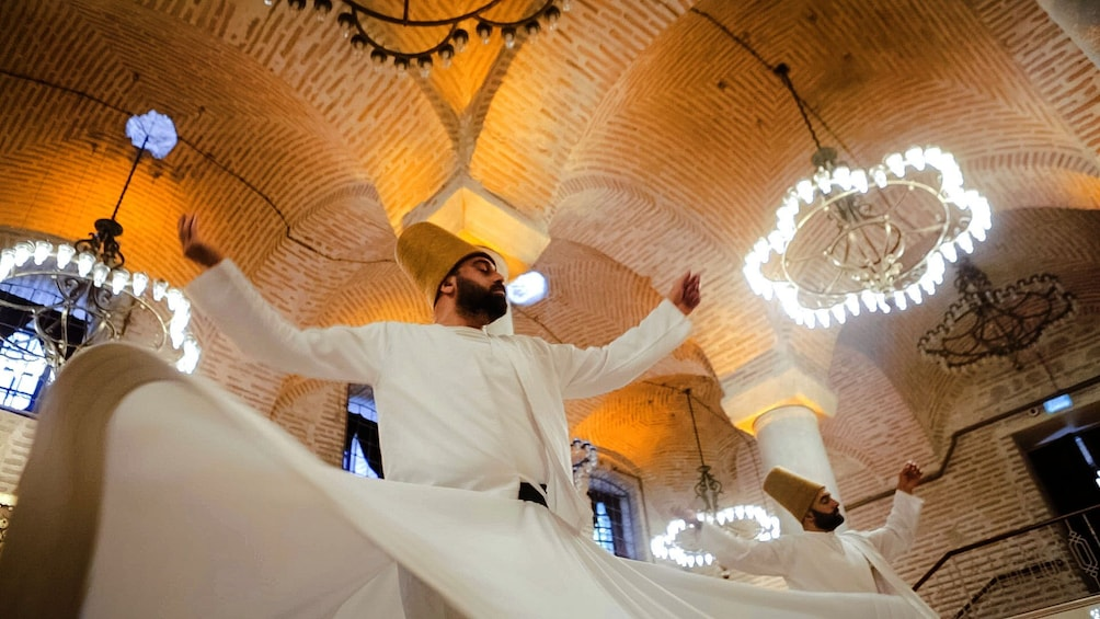 Show item 1 of 10. Whirling Dervish Ceremony in Istanbul