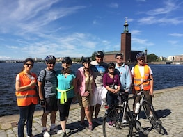 Stockholm at a Glance Bike Tour in Dutch