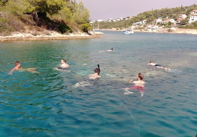 Private boat trip to the islands of Hvar, Brac and Solta