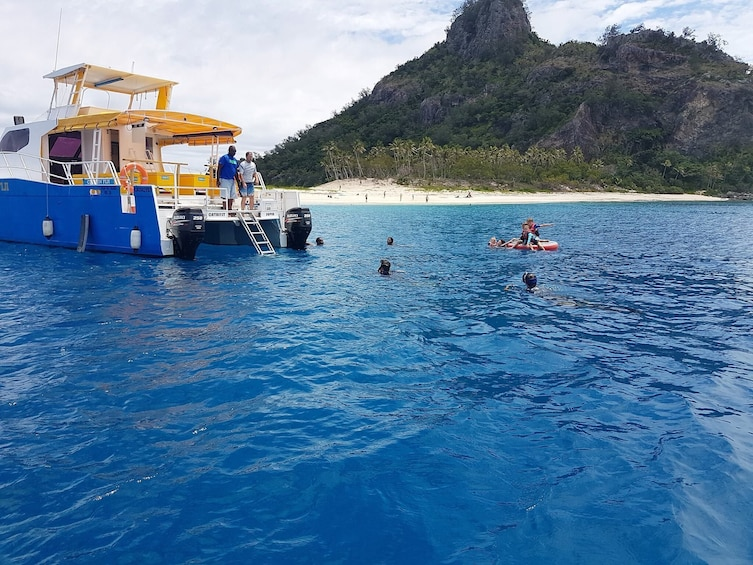 Show item 1 of 6. Fiji Day Cruise - Snorkelling, Swimming and Exploring