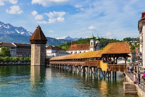 Lucerne city tour & lake boat cruise - starts in Basel