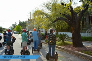 Segway Galveston Tree Carvings Tour