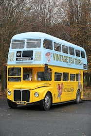 Afternoon Tea on a Bus with Vintage Tea Trips