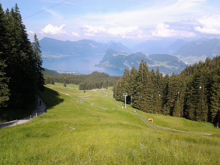 Show item 4 of 10. Mount Pilatus golden round trip & boat cruise from Basel