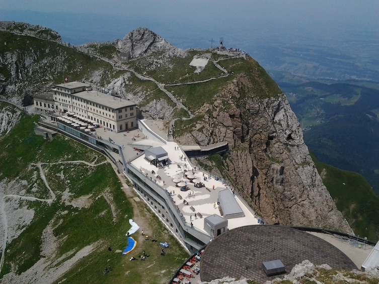 Show item 2 of 10. Mount Pilatus golden round trip & boat cruise from Basel