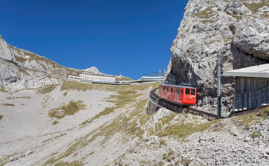 Show item 1 of 10. Mount Pilatus golden round trip & boat cruise from Basel