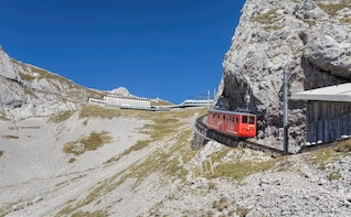Mount Pilatus Golden Round Trip Private Tour from Basel