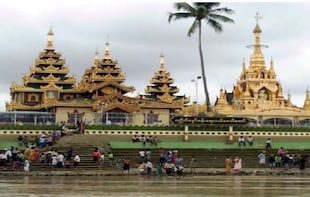 Private Thanlyin Full-Day Tour from Yangon with a Boat Trip