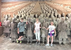 Xian Terracotta Warriors Private Tour with Airport Transfer