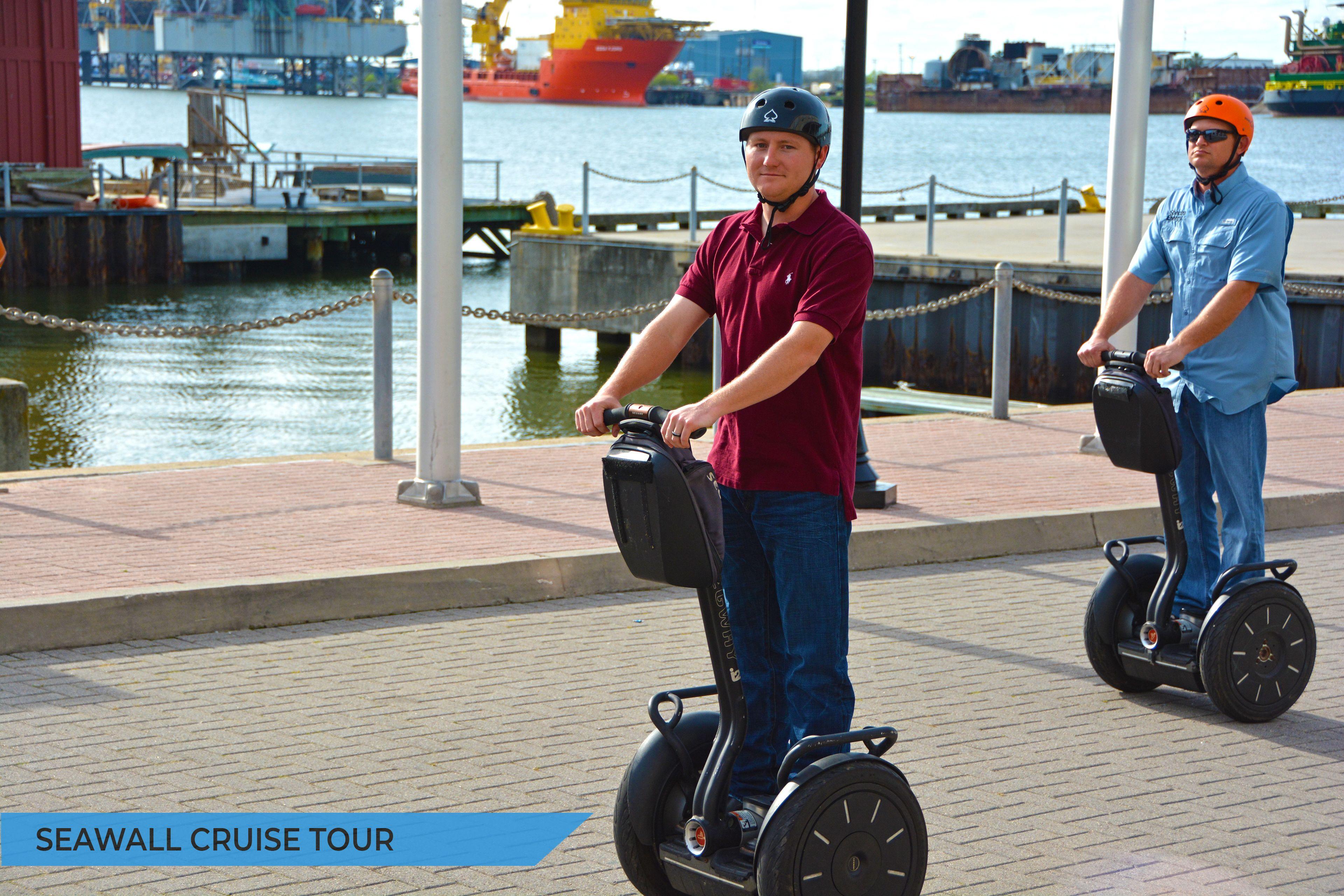 Segway Galveston Seawall Cruise Tour