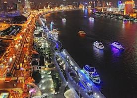 Zhujiajiao Water Town and Huangpu River Night Cruise Tour
