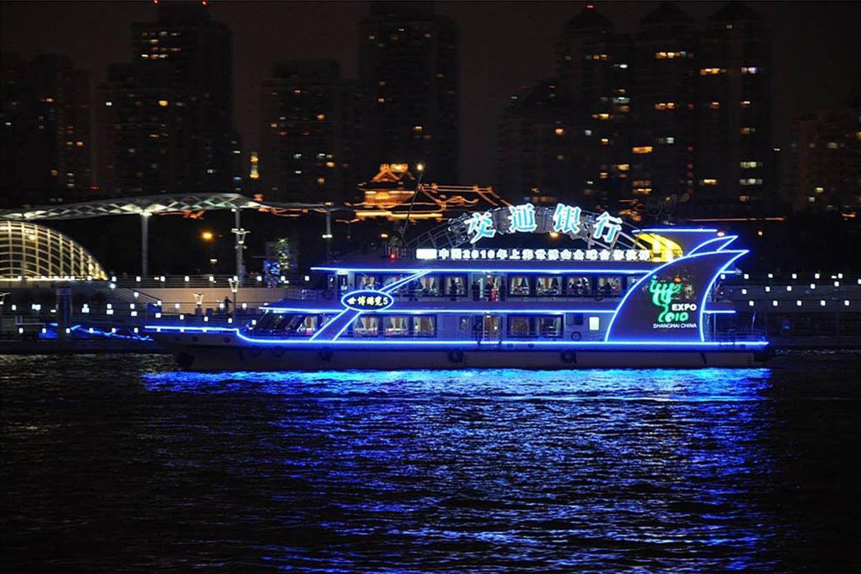 Zhujiajiao and Huangpu River Night Cruise with Dinner