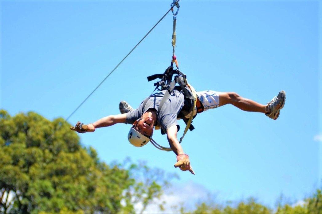 Maui's Best Adventure - Haleakala Bike and Zipline Tour