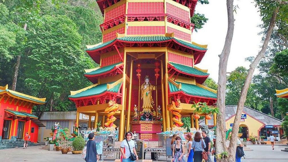 Show item 4 of 7. Jungle Tour to Emerald pool, Krabi Hot Spring waterfall