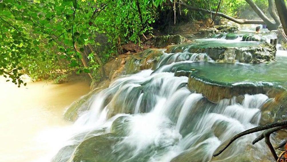 Show item 2 of 7. Jungle Tour to Emerald pool, Krabi Hot Spring waterfall