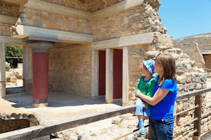 Knossos from Chania