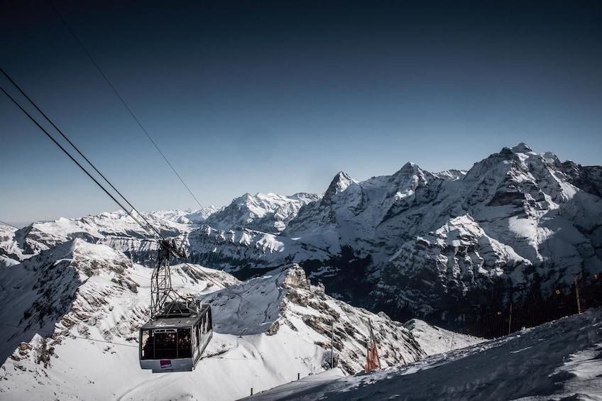 Show item 3 of 10. Schilthorn - 007-James Bond world - from Bern