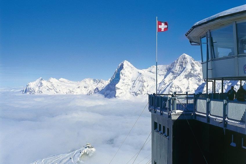 Show item 2 of 9. Schilthorn - 007-James Bond world from Lucerne