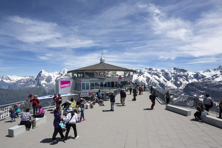 Show item 1 of 10. Schilthorn Piz Gloria - small group tour from Interlaken