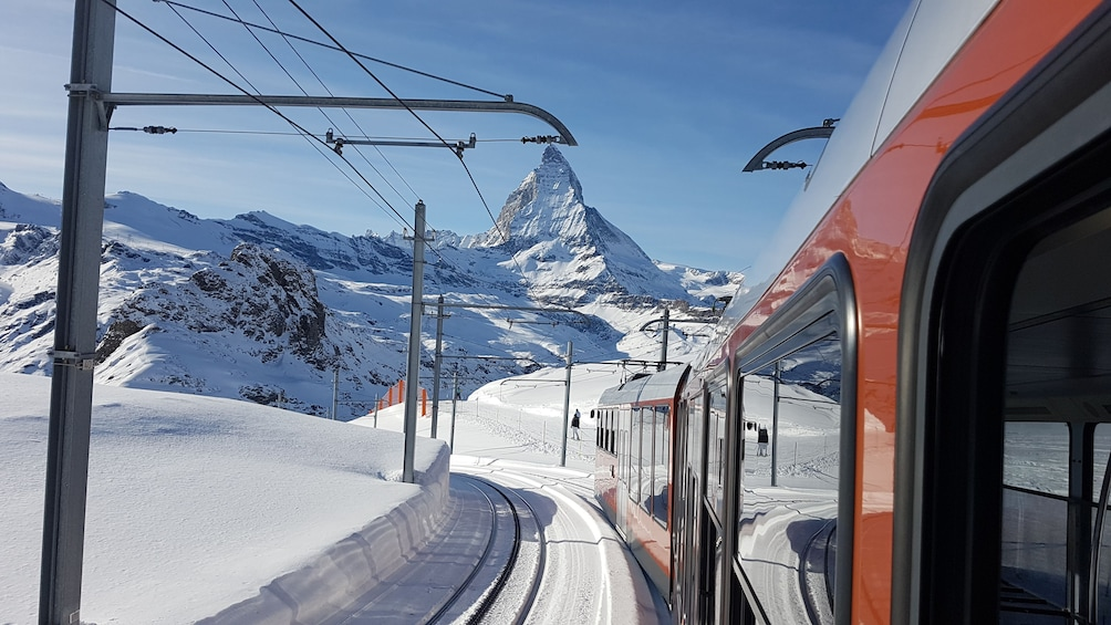 Show item 1 of 10. Zermatt & Gornergrat (Matterhorn area) from Basel