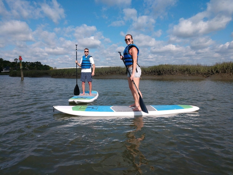 Show item 1 of 2. Hilton Head Island Stand Up Paddleboard Tour