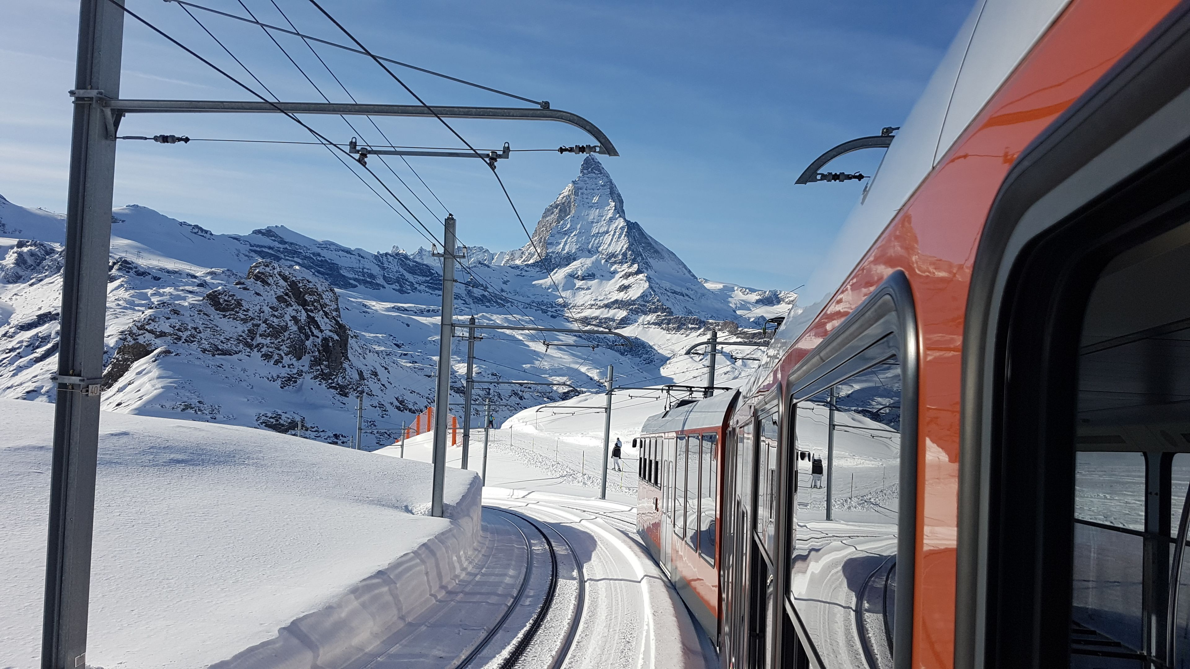 Zermatt & Gornergrat (Matterhorn area) from Zurich