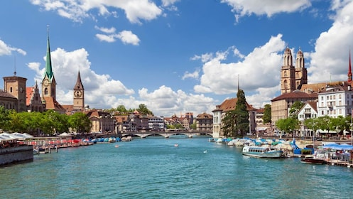 Zürich city - full day tour from Basel