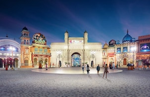 Dubai Parks and Resorts Bollywood Park Tickets only