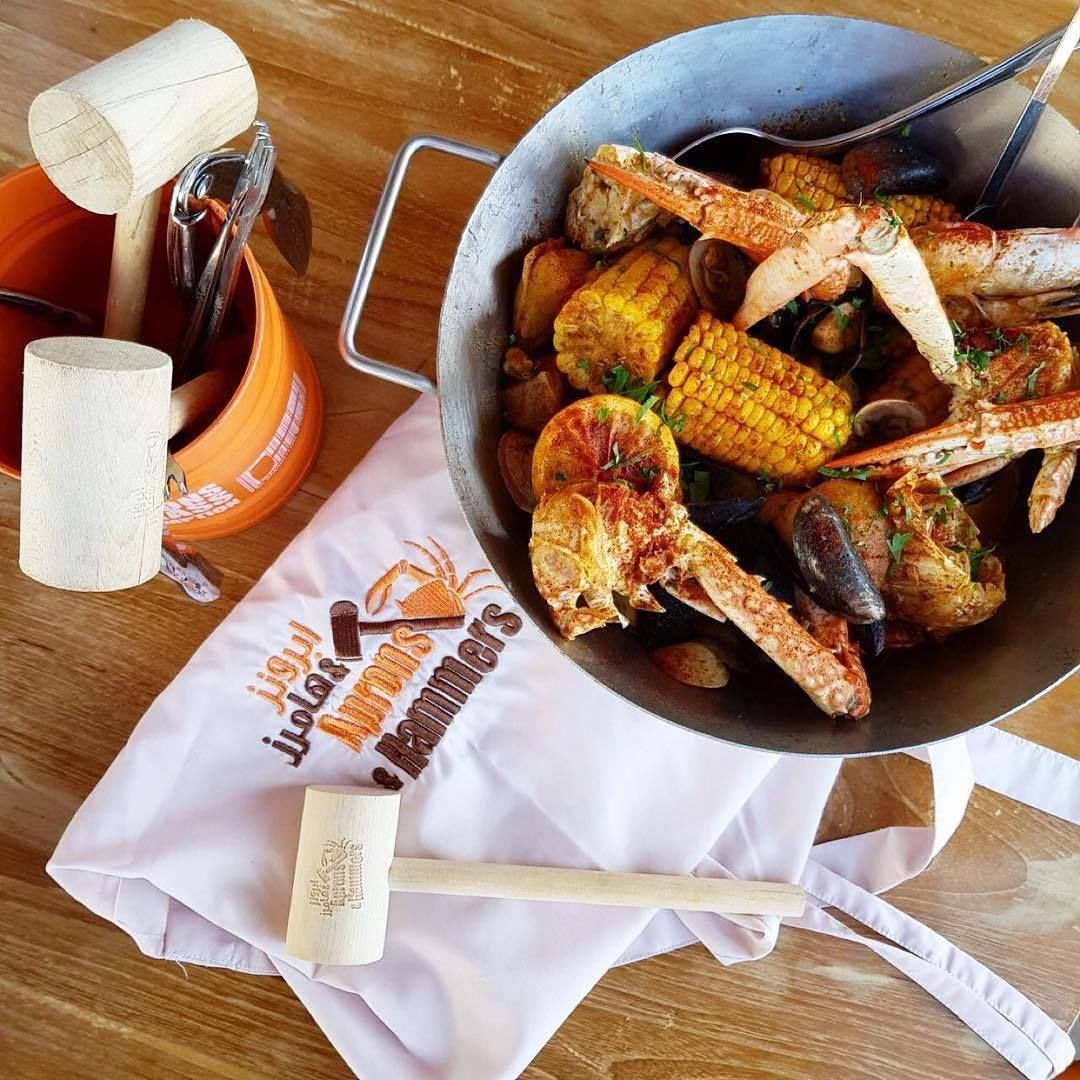 Seafood Dining Experience at Aprons and ...