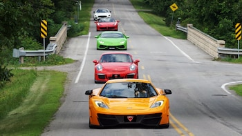 3 Hour Exotic Car Tour with 4-5 Cars in Niagara Wine Country