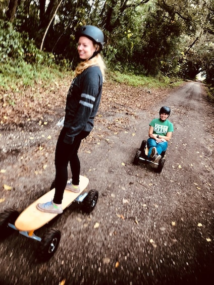 Show item 4 of 6. Adventurous Electric Skateboard Guided Tour