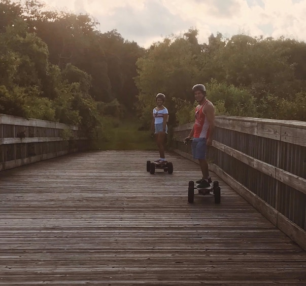 Show item 5 of 6. Adventurous Electric Skateboard Guided Tour
