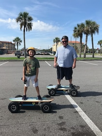 Adventurous Electric Skateboard Guided Tour